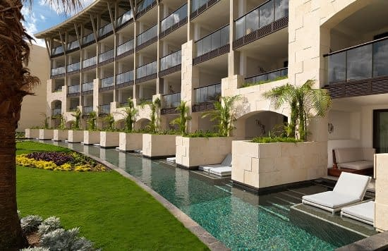 UNICO 2087 Riviera Maya Alcoba Exterior Pool Destination Wedding