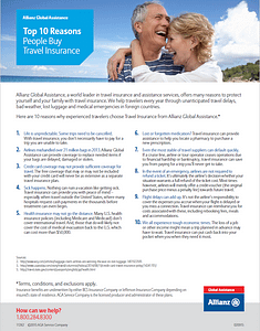 Top 10 Reasons Why You Should Buy Travel Insurance